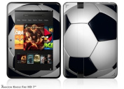 Soccer Ball Decal Style Skin fits Amazon Kindle Fire HD 18cm