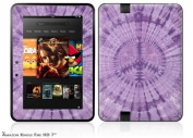 Tie Dye Peace Sign 112 Decal Style Skin fits Amazon Kindle Fire HD 18cm