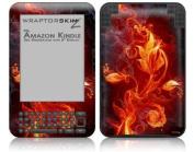 Amazon Kindle Keyboard (Kindle 3) Skin - Fire Flower by WraptorSkinz