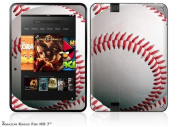Baseball Decal Style Skin fits Amazon Kindle Fire HD 18cm