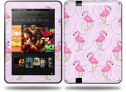 Flamingos on Pink Decal Style Skin fits Amazon Kindle Fire HD 23cm