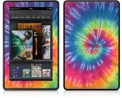 Amazon Kindle Fire (Original) Decal Style Skin - Tie Dye Swirl 104