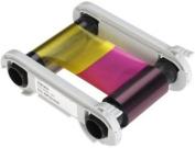 Evolis R6F003AAA 6 Panel Colour Ribbon - YMCKO-K 200 prints