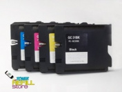 4PK Ink Cartridge for Ricoh GC31BK GC31C GC31M GC31Y 405536 405537 405538 405539 GX e5550N 5550N