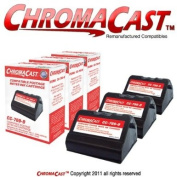 ChromaCast 769-0 Premium Compatible Red Postage Metre Ink Cartridge 3-Pack - Replacement for Pitney Bowes 769-0 - Compatible with Pitney Bowes E700, E707