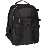 AmazonBasics Backpack for SLR Cameras and Accessories-Black