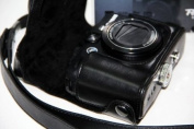 "MegaGear ""Ever Ready"" Protective Leather Camera Case, Bag for Canon PowerShot G15, Canon PowerShot G16"