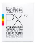 Impossible PRD2442 PX 70 Colour Protection Film for SX-70 Cameras