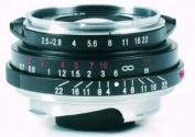 Voigtlander Colour-Skopar Pan 35mm f/2.5 Wide Angle Manual Focus Lens - Black