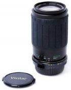 Vivitar Zoom Telephoto 70-210mm f/4.5-5.6 Autofocus Lens for Nikon AF SLR Camera