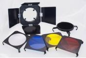 Promaster 7.6cm 1 Barndoor Kit for SystemPro 160A Studio Flash