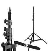 PBL Pro Heavy Duty 2.4m Light Stand, Air Cushioned, for Photo or Video