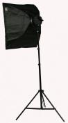 ePhoto Pro Studio Video 4500W Digital Photography Studio 3 Softbox Lighting Kit Light Set and Carrying Case H9060S3