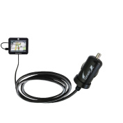 Mini 10W Car / Auto DC Charger for the Motorola MOTONAV TN20 with Gomadic Brand Power Sleep technology - Designed to last with TipExchange Technology