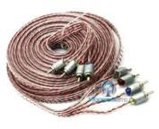 ETP-21.4 - Memphis 6.4m 4-Channel Twisted Interconnect Audio RCA Cable