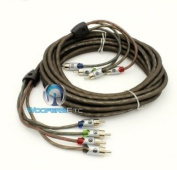 UTPF-21.4 - Memphis 6.4m 4-Channel Ultra Twisted Interconnect RCA Cable
