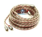 ETP-25 - Memphis 7.6m 2-Channel Twisted Interconnect Audio RCA Cable
