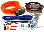 Memphis Audio 8GKIT / 17-8GKIT / 17-8GKIT 8 Gauge Amplifier Kit with RCA Cables