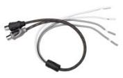 Rockford Fosgate Rfif2sw Speaker Line High Level Input to Female RCA Output Adapter