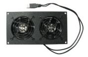 Coolerguys Dual 80mm USB Powered Cabinet Cooler for Cabinet & Home Theatres