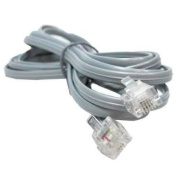 RJ11 6P4C Modular telephone Cable Straight