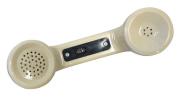 Modular Amplified Receiver Handset Without Cord, Provides Improved Telephone Reception For The Hearing Impaired, Ash