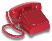 Hot line Desk Phone - Red Hot line Desk Phone - Red