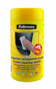 Fellowes Pre-Moistened Screen Cleaning Wipes, 100 per Tub