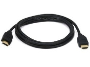Monoprice 1.8m 30AWG High Speed HDMI Cable - Black