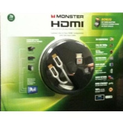 Monster Cable 2 metre HDMI Cable with 90 degree HDMI Adapter