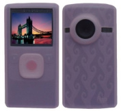 Flip Ultra HD Camcorder Accessory - Soft Pink Silicone Skin Case