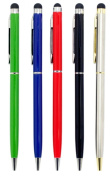 24/7 Cases 5 pieces (Black, Red, Silver,Green,Blue) Universal SlimTouch Screen Cellphone Tablet Pen for iPhone 5, iPad 4 & 5 iPad Mini, for for for for for for for for for Samsung Galaxy S3 & S4