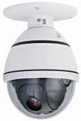 COP Security 15-CD51H-10C Colour / Mono. Mini PTZ Dome with ICR, 10X Optical Zoom