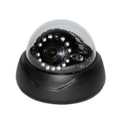 CCTVSTAR SD-620SIM-B BLACK 1/3a.. SONY SUPER HAD CCD II 3.6MM FIXED LENS TRU-620TVL TRU-WDR/OSD/2ND VIDEO OUT /SUPER IR 14 WIDE-ANGLE LEDS 3-AXIS DAY/NIGHT DOME CAMERA
