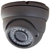 APOSONIC A-CDMVP02 Sony CCD Day & Night 550 TV-line Weather/Vandal-proof Varifocal 2.8-12mm CCTV Surveillance Dome Camera