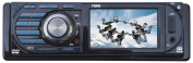 Naxa NCA-691 7.6cm LCD Display Full Fold Down Detachable PLL Electronic Tuning Stereo AM/FM Radio Multimedia Player with Aux-in Jack