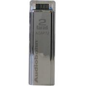 Audiobahn 2.0 Farad Capacitor with 4-Digit Digital Display