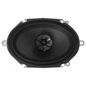Audiobahn AMS680H 15cm X 20cm 2-Way Murdered Out Series Coaxial Car Speakers