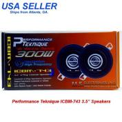 PERFORMANCE TEKNIQUE ICBM-743 8.9cm 2-WAY SPEAKER [Electronics]