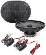Tempo 69C - Morel 15cm x 23cm Integrated 2 Way Coaxial Speakers