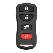 Keyless Entry Blank Replacement Key Remote FOB Shell Case for fits Nissan 4 Button