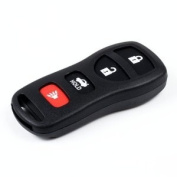 New Keyless Fob Entry Key Remote Replacement Case and Pad For fits Nissan Infiniti 4 Buttons
