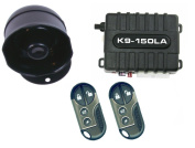 K9 K9150DLA Car Alarm Vehicle Security System with 8 Programmable Features