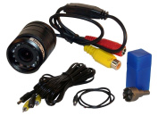 PYLE PLCM22IR Flush Mount Rear View Camera with 0.5 Lux Night Vision