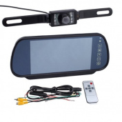 18cm LCD Colour Screen Car Back up Rearview Monitor with Car Rearview Backup Camera