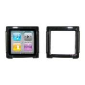 EMPIRE Black Cover Skin Poly Case for Apple iPod Nano 6 / 6th Generation