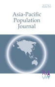 Asia-Pacific Population Journal, 2012, Part 2