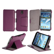 AceAbove Samsung Galaxy Note 3 Case - Protective Stand Case for Galaxy Note III [Purple]