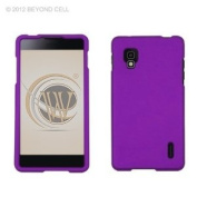 Purple Rubberized Hard Case Cover for Sprint LG Optimus G LS970