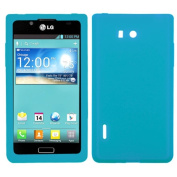 Asmyna LGUS730CASKSO059 Slim Soft Durable Protective Case for LG Splendour/Venice S730 - 1 Pack - Retail Packaging - Tropical Teal